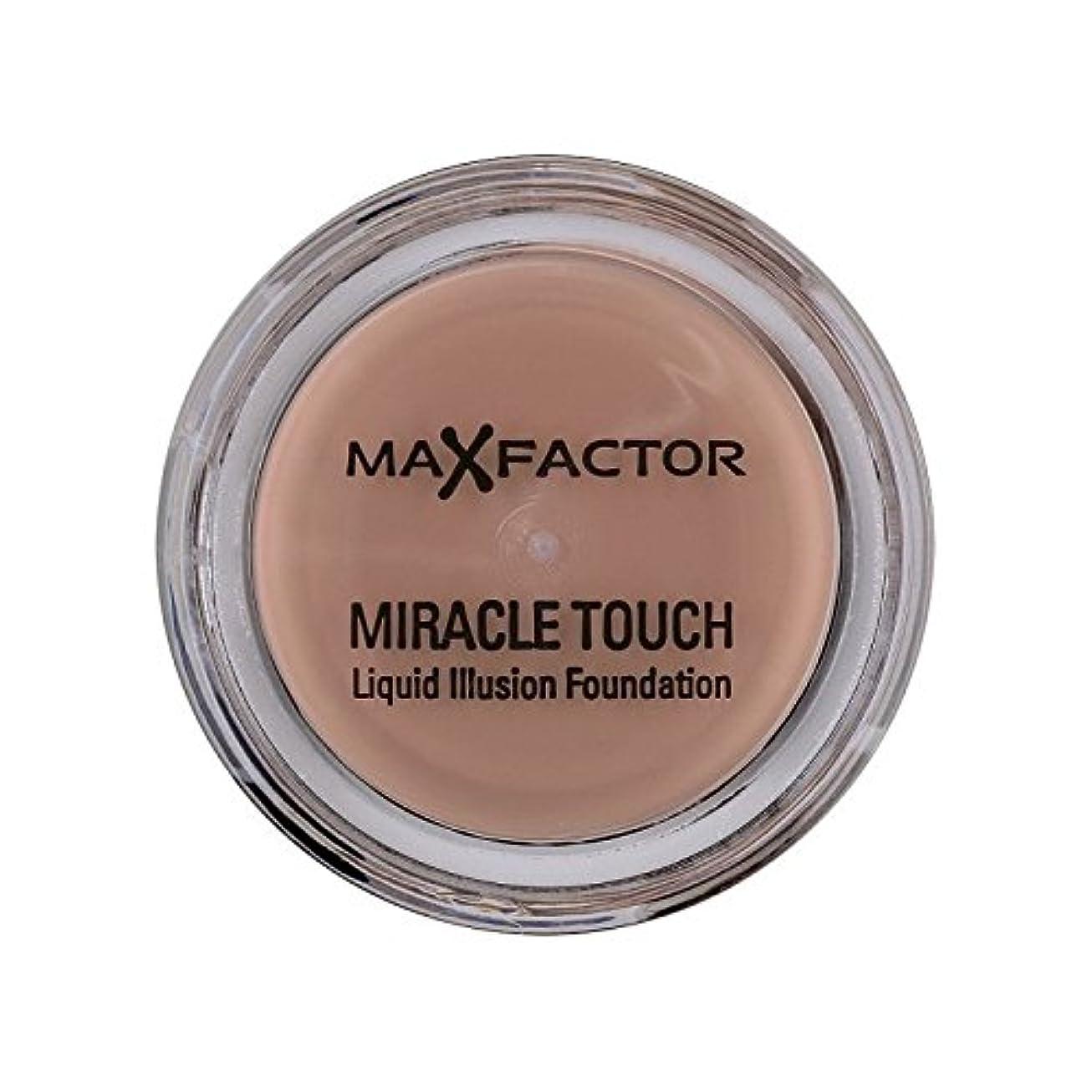 冗長野望登場マックスファクターの奇跡のタッチ基盤の自然70 x4 - Max Factor Miracle Touch Foundation Natural 70 (Pack of 4) [並行輸入品]