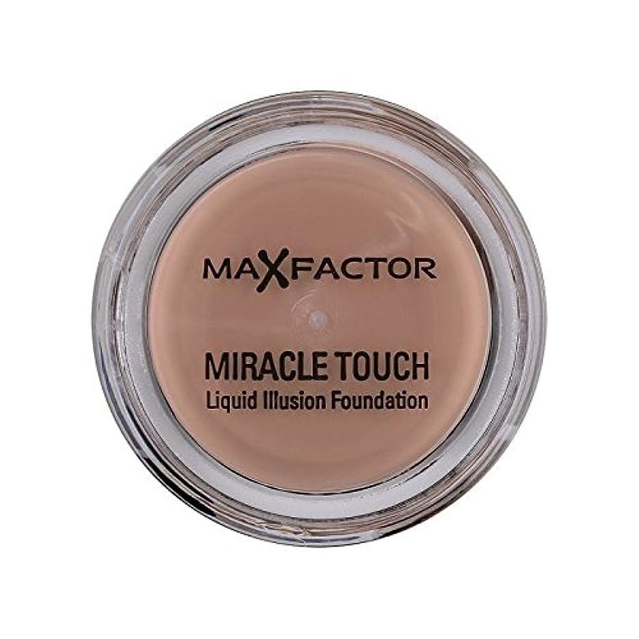 ジェムれるお願いしますマックスファクターの奇跡のタッチ基盤の自然70 x4 - Max Factor Miracle Touch Foundation Natural 70 (Pack of 4) [並行輸入品]