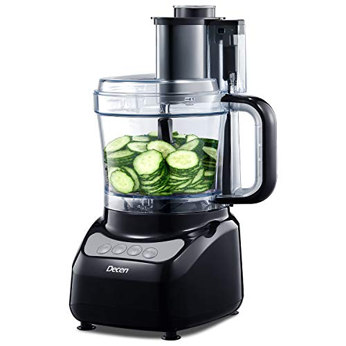 KENWOOD Food Processor Multipro Compact Food Processor 1.4Ltr 600 W-argento