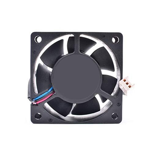 Para DELTA AFB0612HH 6 cm 60 mm ventilador 6025 12 V 0.20 A doble rodamiento de bolas 2 hilos ventilador de refrigeración de energía