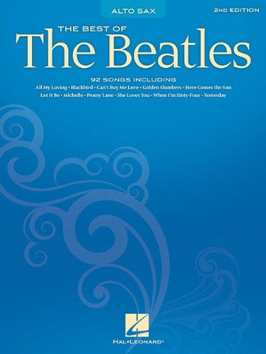 Best of the Beatles: Alto Sax (SAXOPHONE)