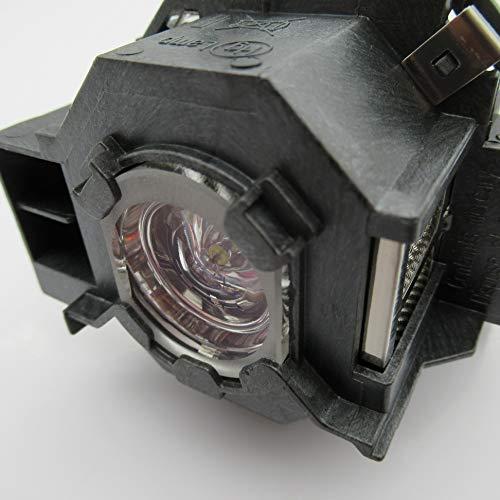 Supermait EP41 A+ Calidad Lámpara de Repuesto para proyector con Carcasa, Compatible con Elplp41, Adecuada para PowerLite 77c / PowerLite 78 / PowerLite S5 / PowerLite S6 / PowerLite W6 / EX21