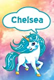 Chelsea: Unicorn Blank Comic Book Notebook Journal book 120 pages 6'x9'