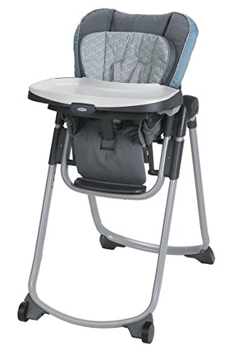 Most Sturdy high chair for apartments: Graco Slim Spaces High Chair