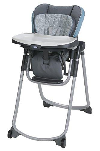 Graco Slim Spaces High Chair | Compact High Chair, Amari