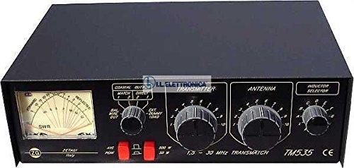 ZETAGI TM-535 ROSMETRO CON ACCORDATORE MANUALE 1,8-30 mhz 500WATT 33002