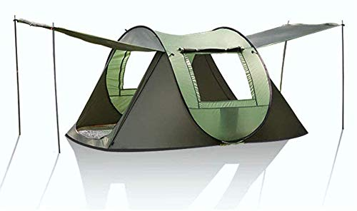 Pop-up al aire libre Tienda de campaña, completamente automático camping 3-4 personas a prueba de viento y resistente al agua acampa de la pesca Toldo, 240 * 150 * 110 cm automática tienda de campaña