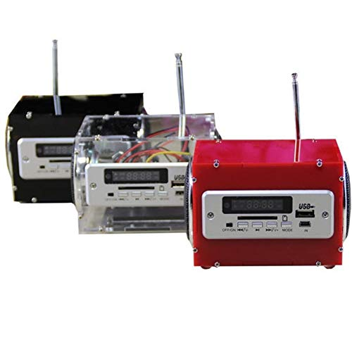 Khxypm 86 Durable Power Amplifier Speaker Kit with MP3 AUX Radio Function...