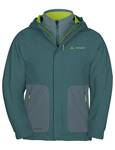 VAUDE Kinder Campfire 3in1 Jacket IV, grün(Eucalyptus), 104