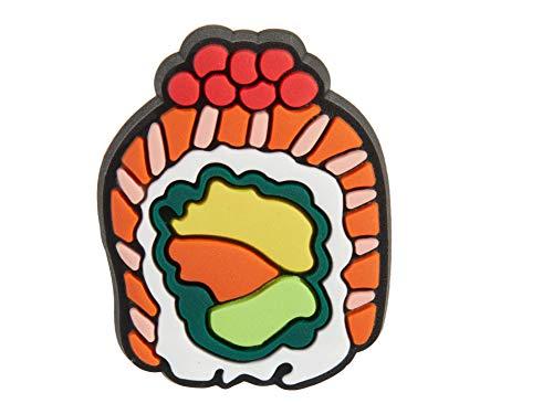 Crocs Jibbitz Essen-Schuhanstecker | Individualisieren Sie Ihre Crocs mit Jibbitz Sushi Roll One-Size
