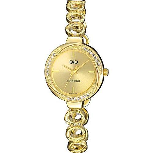 Q&Q Reloj de mujer de moda F645J010Y analógico de cuarzo japonés estándar