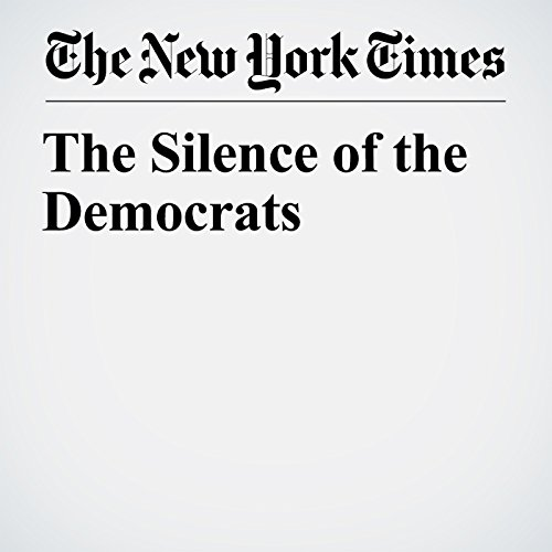 The Silence of the Democrats copertina