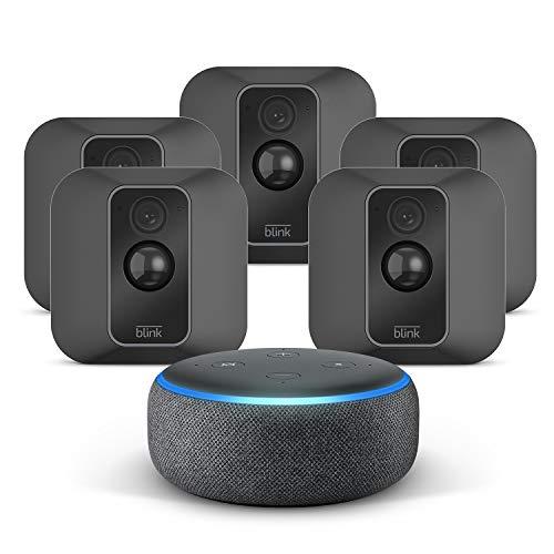 Nouvelle Blink XT2 Système à 5 caméras + Echo Dot (3rd Gen),...