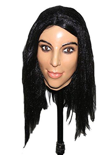 Hengyutoy Mask Sexy Weibliche Hautmaske Halloween Cosplay Crossdress