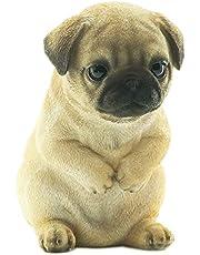 [ファンシー] ca170 パグ いぬ 置物 インテリア ガーデニング プレゼント 人気 ガーデンオーナメント 犬 好き な 人 へ の プレゼント 誕生日プレゼント 女性 人気 彼女 結婚記念日 転居 最適なプレゼント
