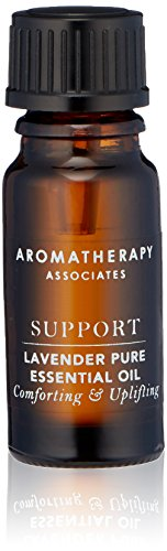 Aromatherapy Associates Lavender Pure Essential Oil, 0.34 Fl Oz. Made from 100% pure high-altitude grown Lavender. The must-have oil in any bathroom cabinet. Can be used with a diffuser.
