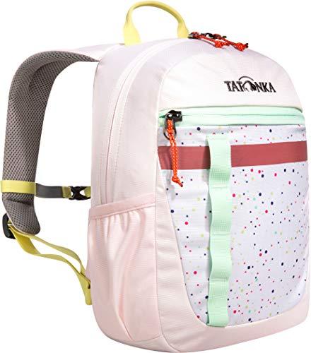 Tatonka Kinderrucksack Husky Bag JR 10 - Rucksack für Mädchen ab 4 Jahren - Mit Reflexstreifen und inkl. Sitzkissen - 10 Liter - Pink