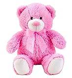 Lifestyle & More Osito de Peluche Osito Rosa con Lazo 50 cm de Altura Peluche Aterciopelado Suave - to Love