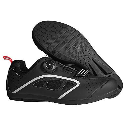 WPF ZJH Sin Enclavamiento Zapatos de Ciclo del Zapato de los Hombres...