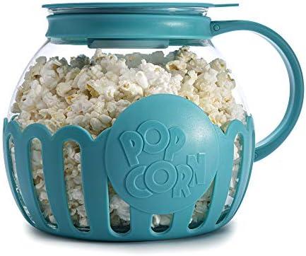 Ecolution Original Microwave Micro Pop Popcorn Popper Borosilicate Glass 3 in 1 Lid Dishwasher product image