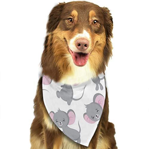 Leuke Baby Muis Schattige Peuter Hond Kat Bandana Driehoek Bibs Sjaal Huisdier Kerchief Halsdoek Set Voor Kleine Tot Grote Hond Katten Gepersonaliseerd