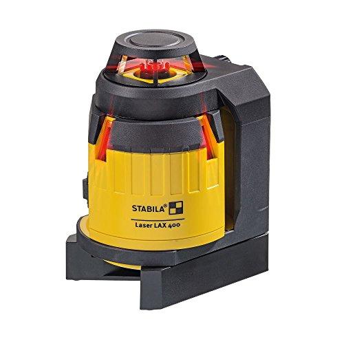 STABILA Multilinien-Laser LAX 400, 6-teiliges Set