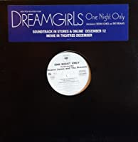 """One Night Only - Deena Jones And The Dreams (Beyonce) 12"""""""