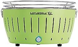 LotusGrill Kohlegrill Serie 435 XL, Zitrus, 43,5 x 35 x 25,7 cm