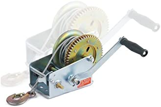 Hand Winch 2500 LB 2 Way All Purpose Ratcheting Crank Winch 2500 pounds