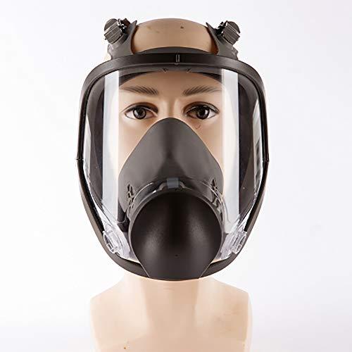 Stofzuiger met veiligheidsbril 7 in 1 volledig gezicht gezicht Respirator voor schilderijen, stof, deeltjes, machine polijsten, lassen en andere werk bescherming blazer overleving nucleaire