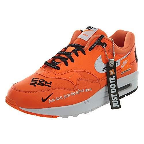 Nike Wmns Air MAX 1 LX, Zapatillas de Gimnasia para Mujer, Naranja (Total Orange/White/Black 800), 38 EU