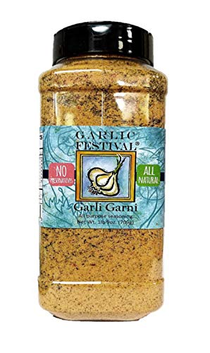 Garlic Festival Foods Garli Garni All Purpose Garlic Seasoning Grande 25 oz.
