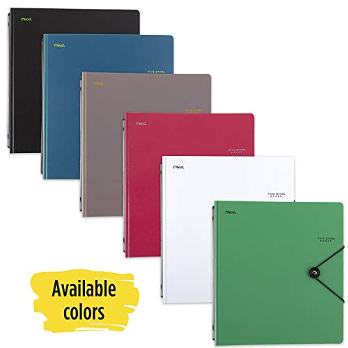 """Five Star D-Ring Binder, 1"""" Expanding Spine, 225 Sheet Capacity, Assorted Colors, Color Selected for You, 1 Count (26246) Photo #5"""