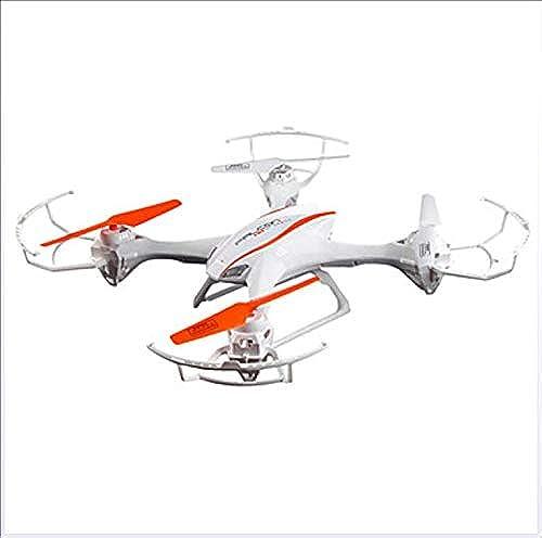 shengshiyujia RC Drohne 4CH 6 Achse 2.4G Mit HD Kamera RC Quadcopter FPV LED-Leuchten Failsafe RC Quadcopter Fernbedienung Sender Kamera   360 ° Rolling Hover   360 ° Rolling Hover,Weiß