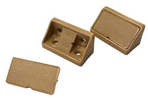 Korpusverbinder hellbraun beige 20 Stück Kunststoffwinkel universal Winkel