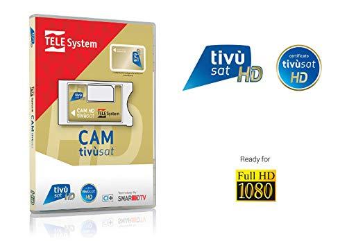 Tele System SmarCAM TivùSat Smart-Card-Lesegerät Innenraum CI - Smart-Card-Lesegeräte (Innenraum, LG, Samsung, Sony, CI)