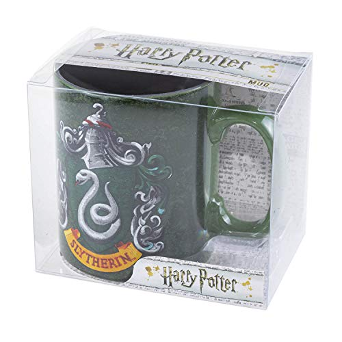 ABYstyle -HARRY POTTER - Taza - 460 ml - Slytherin