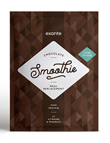 Exante Meal Replacement Low Sugar Shake Pack 10 (Chocolate)