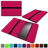 NAUC Lenovo Thinkpad Yoga 370 Tasche Hülle Filz Sleeve Case Schutzhülle Notebook Cover, Farben:Pink