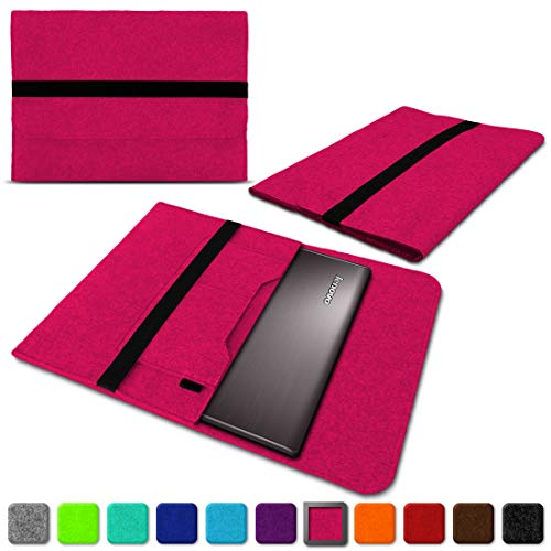 NAUC Lenovo Thinkpad Yoga 370 Tasche Hülle Filz Sleeve Hülle Schutzhülle Notebook Cover, Farben:Pink