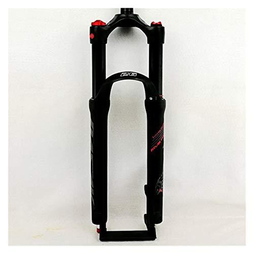WFBD-CN Mountainbike-Gabel Mountain Bicycle Gabel 26in 27.5in 29 Zoll MTB Bikes Federung Gabel Luftdämpfung Vordere Gabel Remote und manuelle Steuerung HL RL Fahrradsuspension Gabeln.