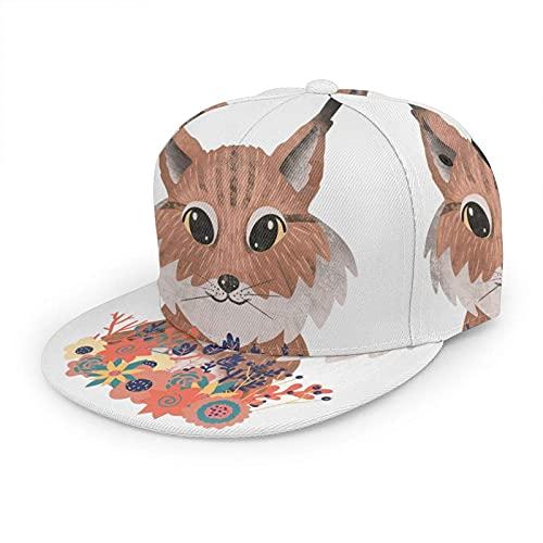 Lynx Hut Baseballkappe für Damen und...