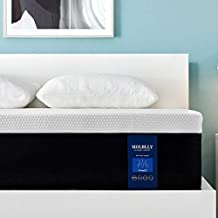 Queen Size Mattress, 12 Inch Molblly Premium Cooling-Gel Memory Foam Mattress Bed in a Box, Cool Queen Bed Supportive & Pressure Relief with Breathable Soft Fabric Cover, Medium Firm