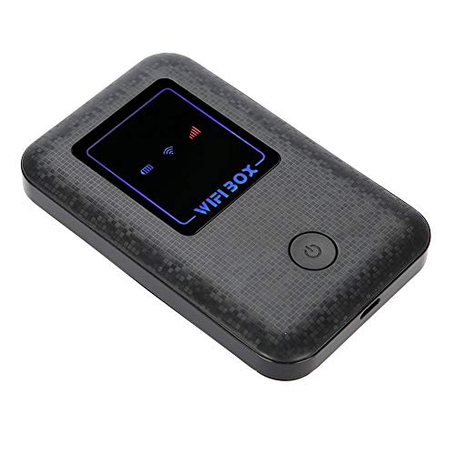 4G LTE Mobile Hotspot Device,WiFi box-high Speed-2100Mah-can Connect up to 10 users-USB Charging Portable 4G Router,Suitable for Mobile Phones,Ipad Laptops,etc.(T1)
