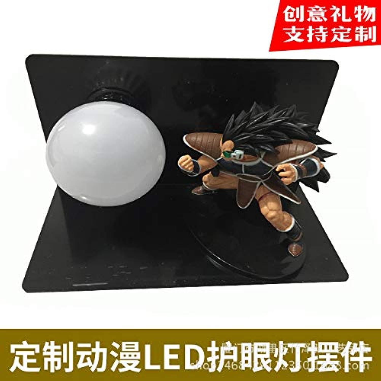 CXQ kreative Animation Dragon Ball um Sun Wukong Vitalitt Kugel führte Auge Lampe Ornamente Puppe Tischlampe, Dragon Ball 9