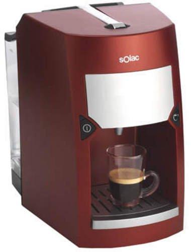 Solac CE 4411, Rojo, 1030 W, 220 - Máquina de café