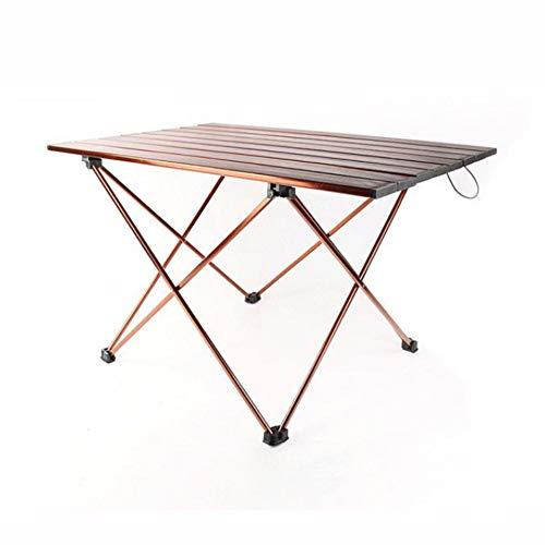N C Équipement De Camping Portable Extérieur Table Pliante pour Barbecue en Plein Air Table Pliante en Alliage D aluminium De Camping Petite Table en Plaque D aluminium pour L extérieur Pique-Nique