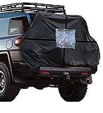 HABILL-AUTO Housse de Protection pour 2/3 vélos Camping Car