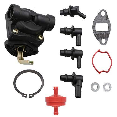 Yomoly 47 559 11-S Fuel Pump for Kohler K-Series K241 K301 K321 K341-10 12 14 16 hp Engines Replace 47 393 19 47 393 61-S 47 559 04-S John Deere AM134269 Gravely 38789