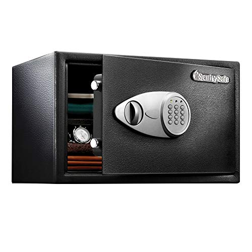 SentrySafe X125 Security Safe with Digital Keypad 1.2 Cubic Feet (Extra Large),Black